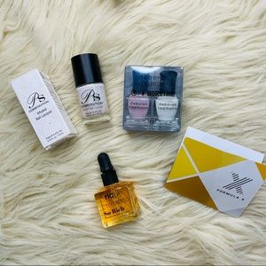 Luxury nail care polish bundle
